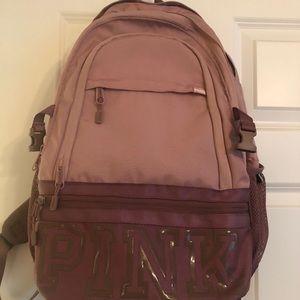 VS Pink Blush Collegiate Backpack